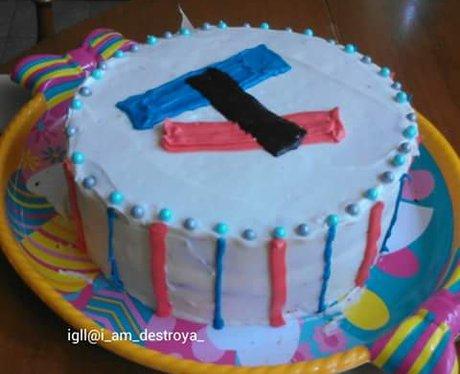 Facebook cake 13